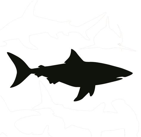 Cool Small Kitchen Designs by Bull Shark Decal Removable Wall Stickers And Wall Decals
