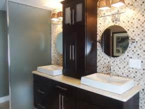 countertop cabinets for the bathroom contemporary bathroom photos hgtv