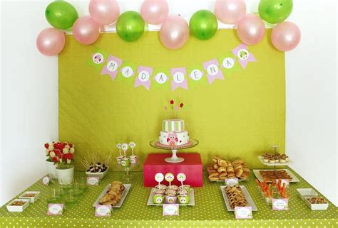 pink and green owl baby shower baby shower ideas