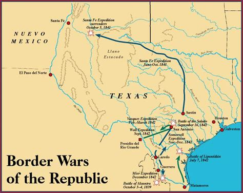 map of texas mexico border texas border wars