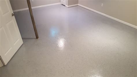 Epoxy Garage Floor Kansas City by Remodeling Services E L Construction Llc Interior And