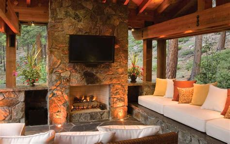 homes with outdoor living spaces lake tahoe home embrace style with your outdoor living
