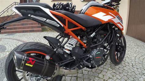 125 Motorrad Sound by Akrapovic Exhaust Ktm Duke 125 Motorrad Bild Idee