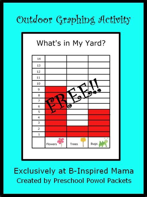 what s in my backyard 22 best images about graphs charts and recording sheets