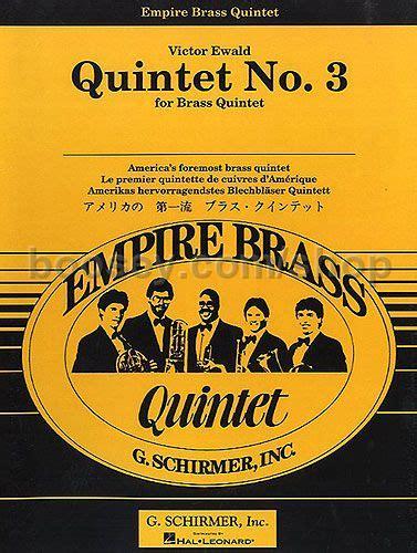 Dvd Airlux By Bima Store victor ewald brass quintet no3 score parts ed3394