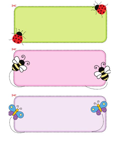 card templates for children name cards for kidspressmagazine
