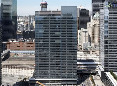 Low Cost Tiny Homes toronto s pwc tower is a smart office building with an