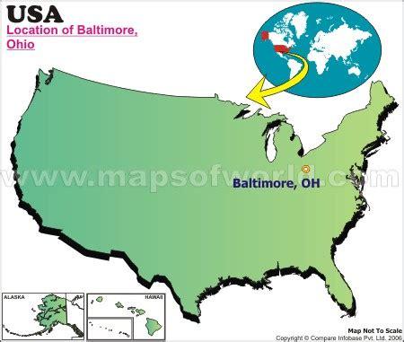 where is baltimore located in ohio, usa
