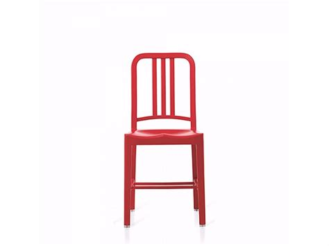 emeco sedie sedia in plastica riciclata 111 navy 174 emeco