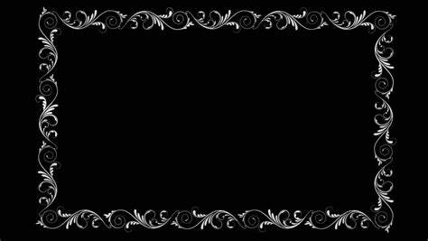 text screen background silent style text frame projector