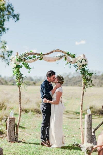 Easy Garden Wedding Arch Ideas   Garden Wedding Decoration