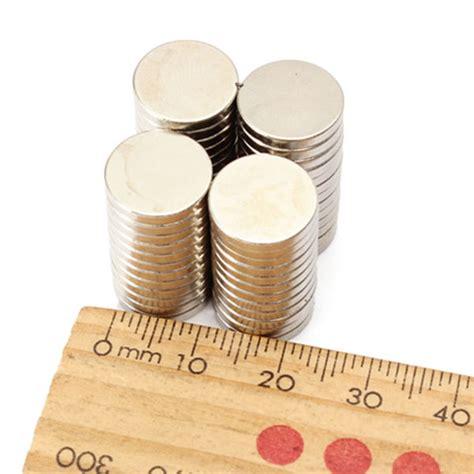 Strong Magnet Neodymium 12x2mm Silinder Diameter 12 Tebal 2 Mm N52 50pcs strong disc earth neodymium magnets n48