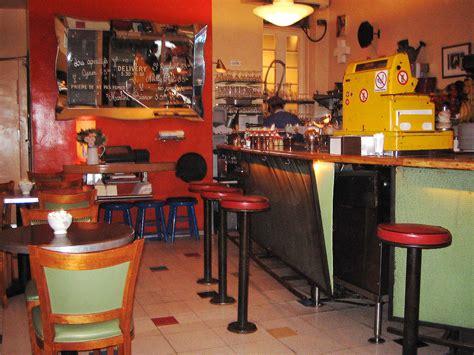 Interior Online cafe gitane nyc