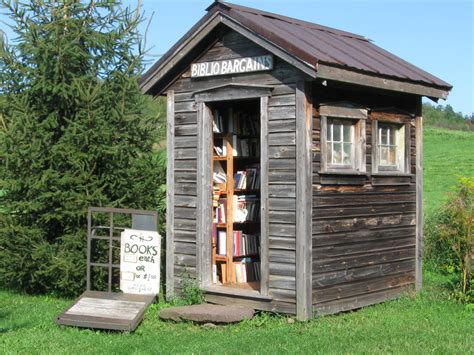 tiny library neat sheds