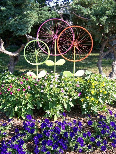 Gartendekoration Ideen by Kreative Gartenideen Deko Aus Altem Fahrrad Selber Machen