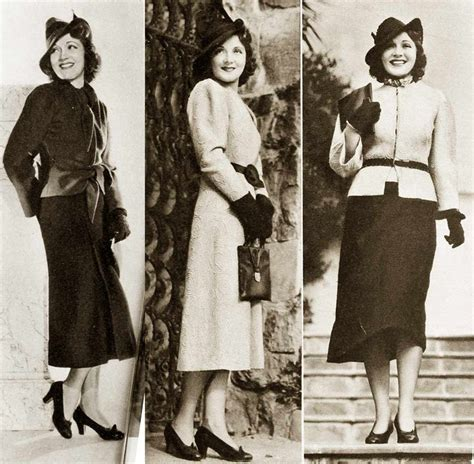 1930s fashion women s dress and hairstyles glamourdaze 1930s fashion hollywood fall styles in 1937 c june