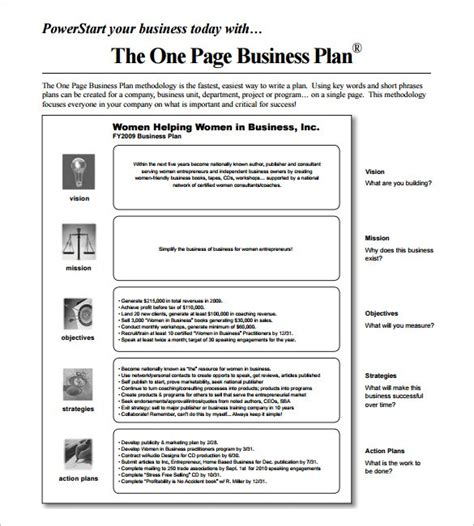 doc 585650 business action plan template 10 free sle