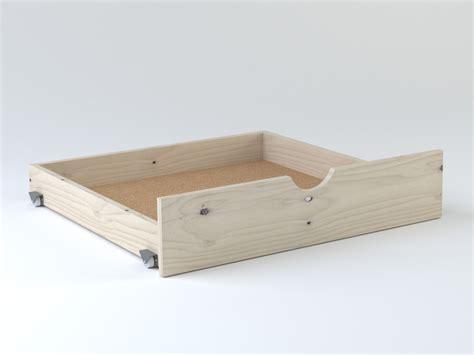 camas cajon cama compacta con lamas y dos cajones muebleslufe