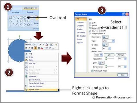 tutorial powerpoint design powerpoint slides design make a glossy ball