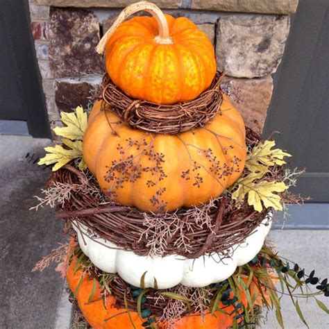 pumpkin topiary ideas 4 ways to decorate your yard for fall aden earthworks