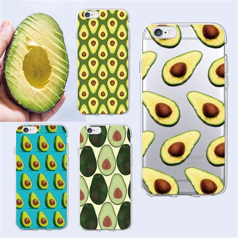 cute avocado pattern cute avocado food pattern soft phone case cover coque