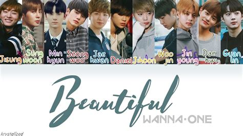 download lagu wanna one energetic wanna one 워너원 beautiful han rom eng color coded