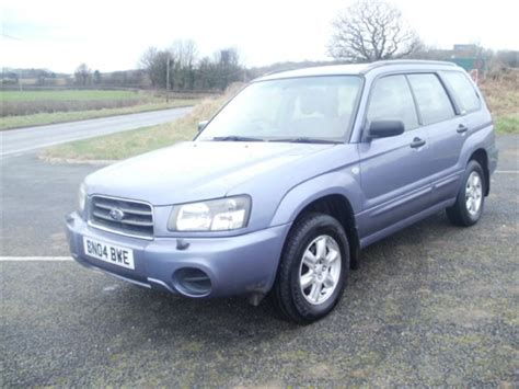 purple subaru forester used 2004 petrol subaru forester in purple metallic 86 659