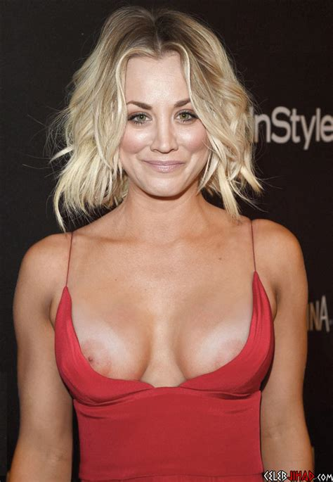 Sexy Kaley Cuoco Boobs