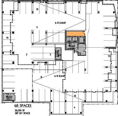 parking floor plan parking structure plans search parking garages