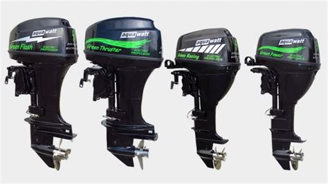 electric outboard boat motors electric engines batteries aquawatt electric yachts