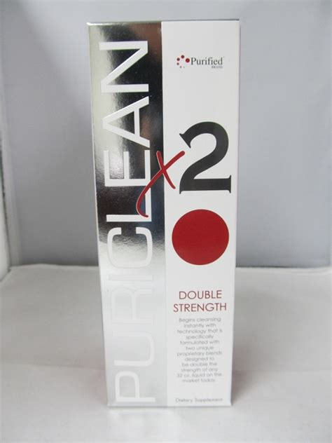 Clean X2 Detox Review by Puriclean X2 Strength Detox 32oz