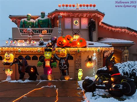 halloween decorated homes halloween decorated homes lipstick alley