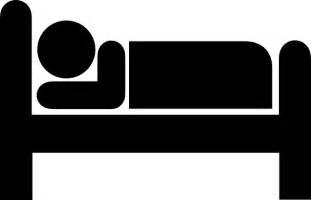 Bed Symbol sleep clip art at clker com vector clip art online royalty free