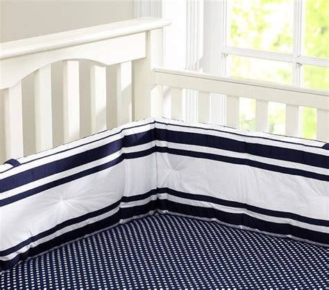Navy Blue And White Crib Bedding Pottery Barn Mini Dot Crib Fitted Sheet 19 1419 Bed