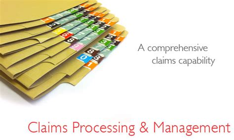 claims claims processing