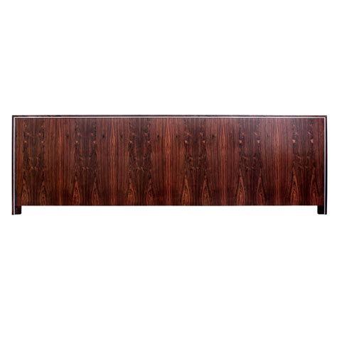 Rosewood Headboard by Wide King Size Headboard In Rosewood And Chrome For