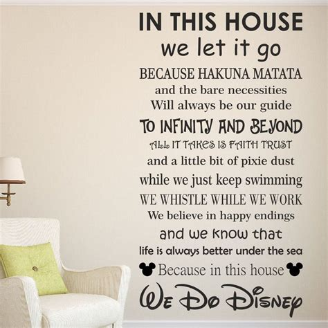 wall stickers sayings wall decal inspirational disney sayings wall decals
