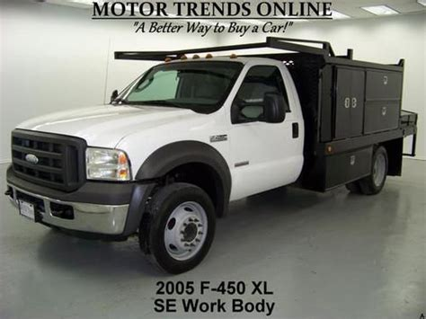 buy used 2005 ford f450 xl drw diesel scelzi se work body gas pump 59k motor trends in alvin