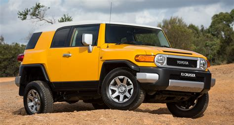 Toyota Fj Crusier Toyota Fj Cruiser Production To End In August