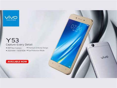 For Vivo Y53 vivo y53 with snapdragon 425 chip launched specs price