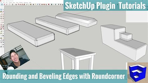 sketchup layout rounded rectangle bevel and round corners in sketchup with roundcorner