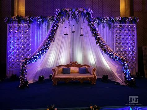 Wedding Decoration   Indoor Stage Backdrop