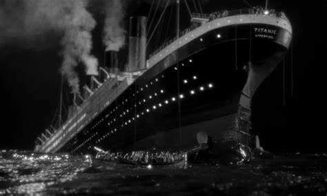 what year did the titanic sink how many years ago did the titanic sink did the moon sink