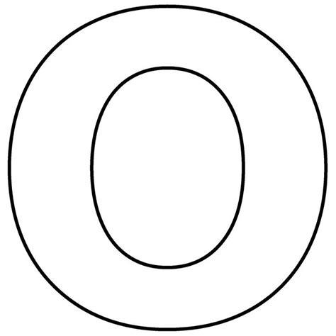 craft alphabet templates | Lower Case Alphabet Letter O ... O