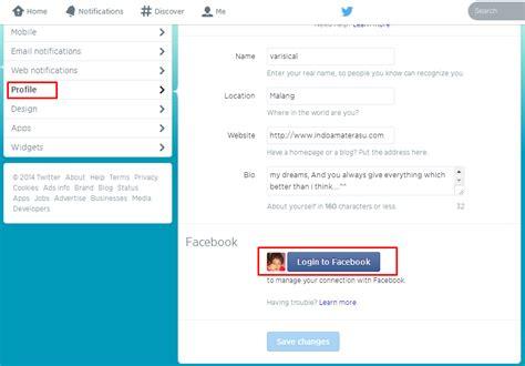 membuat facebook sekarang membuat tweet otomatis posting di facebook graphic