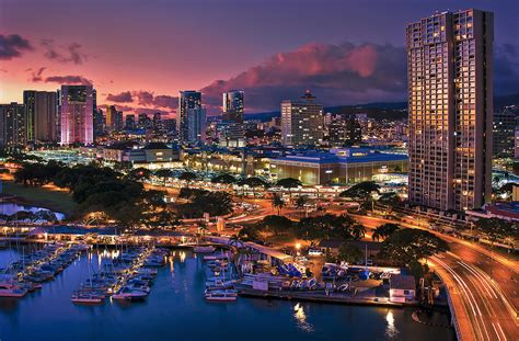 Honolulu City Lights by Honolulu City Lights Photograph By Hawaii Photography