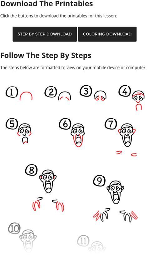draw  zombie  scooby doo art  kids hub