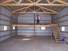 pole barn shop plans shop loft garage shop cave barn
