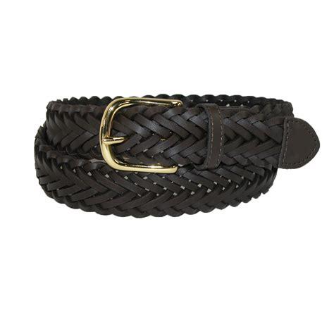 boys leather braided dress belt by aquarius