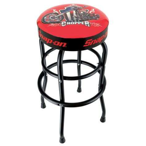 Snapon Stool by Snap On 174 Garage Shop Swivels 360 Degree Bar Stool With